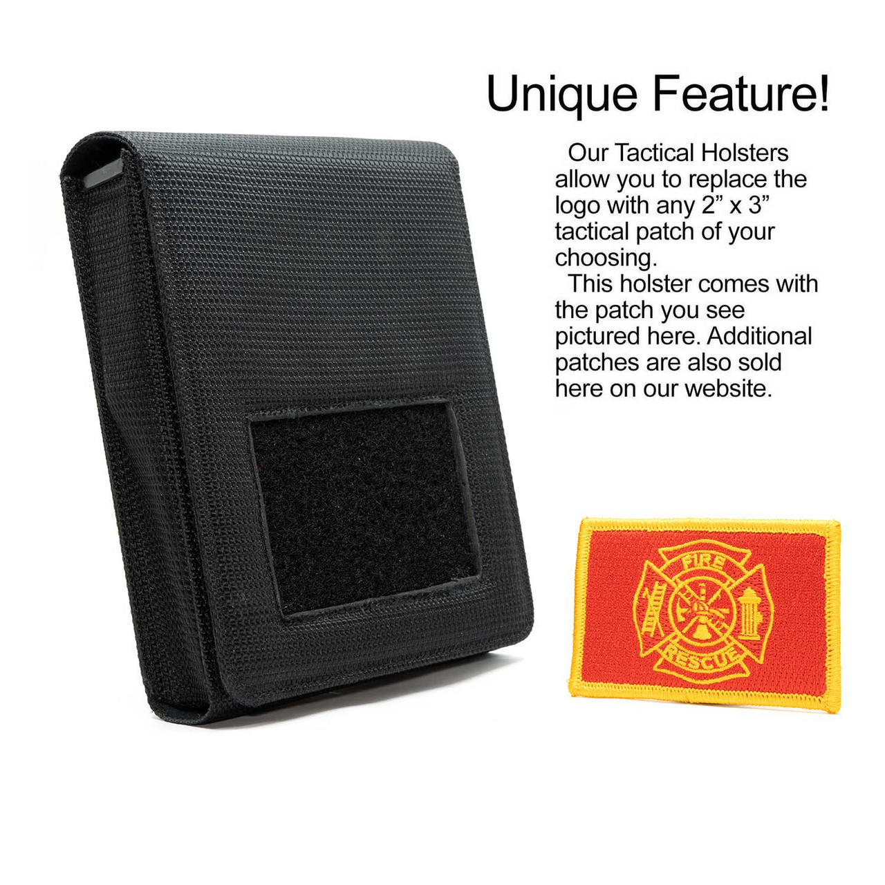 Fire Rescue Tactical Patch