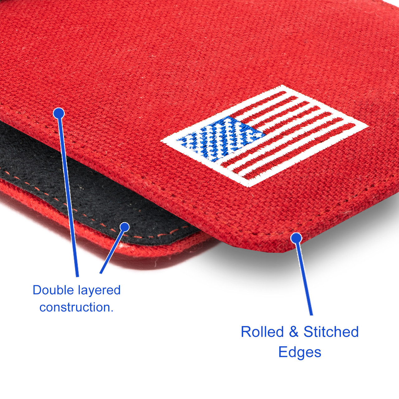 Mossberg MC1SC Red Canvas Flag Series Holster