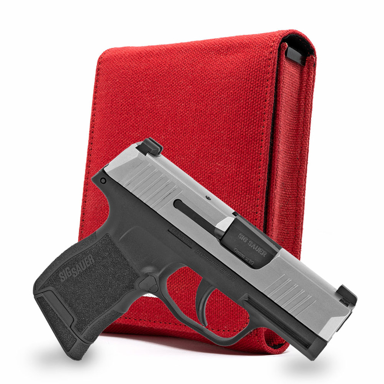Sig P365 Red Canvas Flag Series Holster
