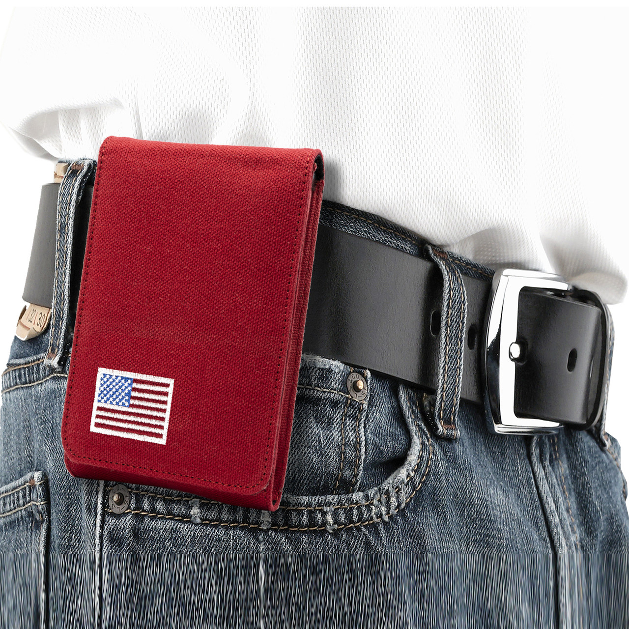 Springfield XD9 Red Canvas Flag Series Holster