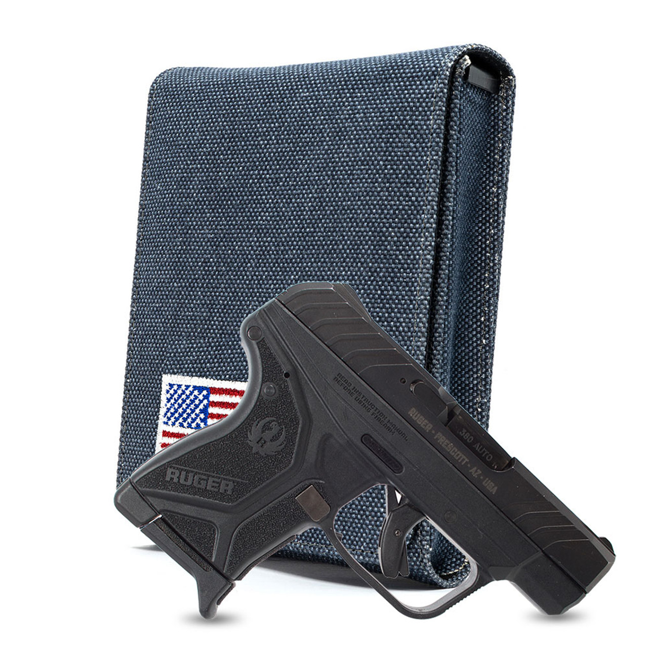 Ruger LCP II Denim Canvas Flag Series Holster