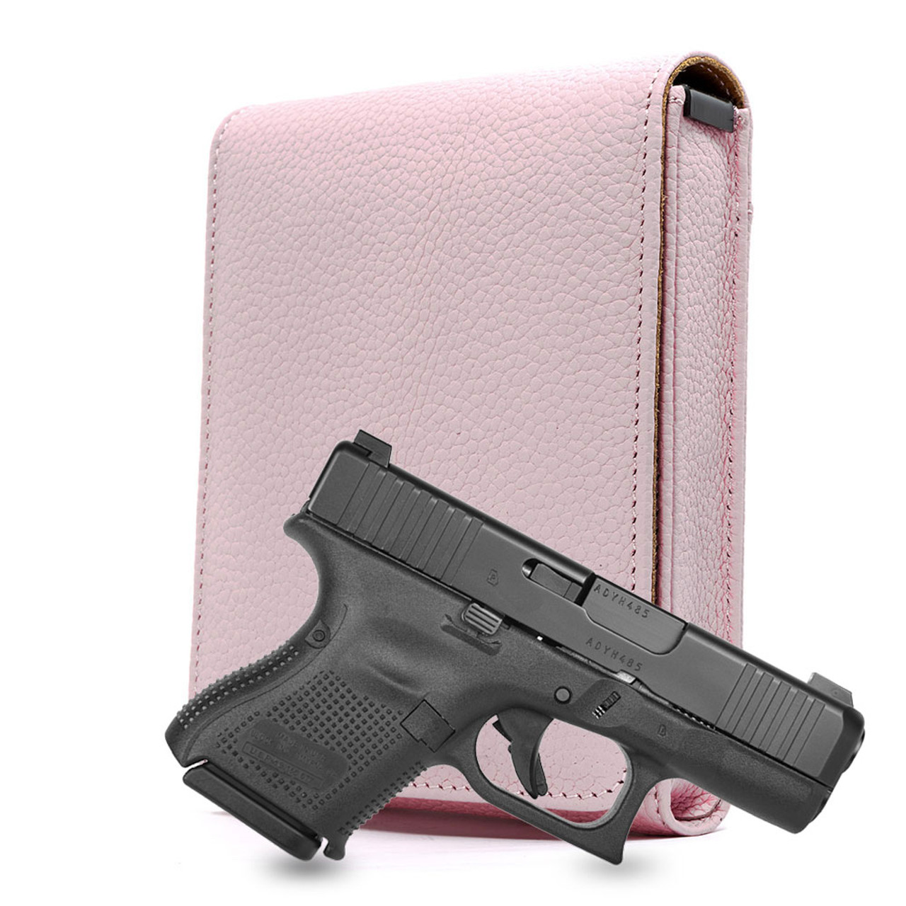 Glock 26 Pink Carry Faithfully Cross Holster