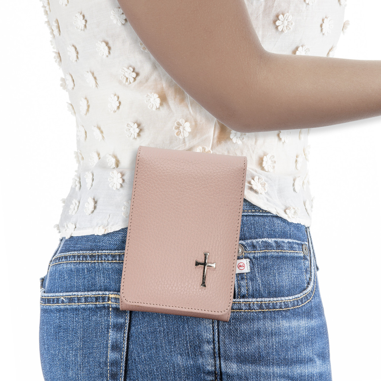 Ruger LC9 Pink Carry Faithfully Cross Holster