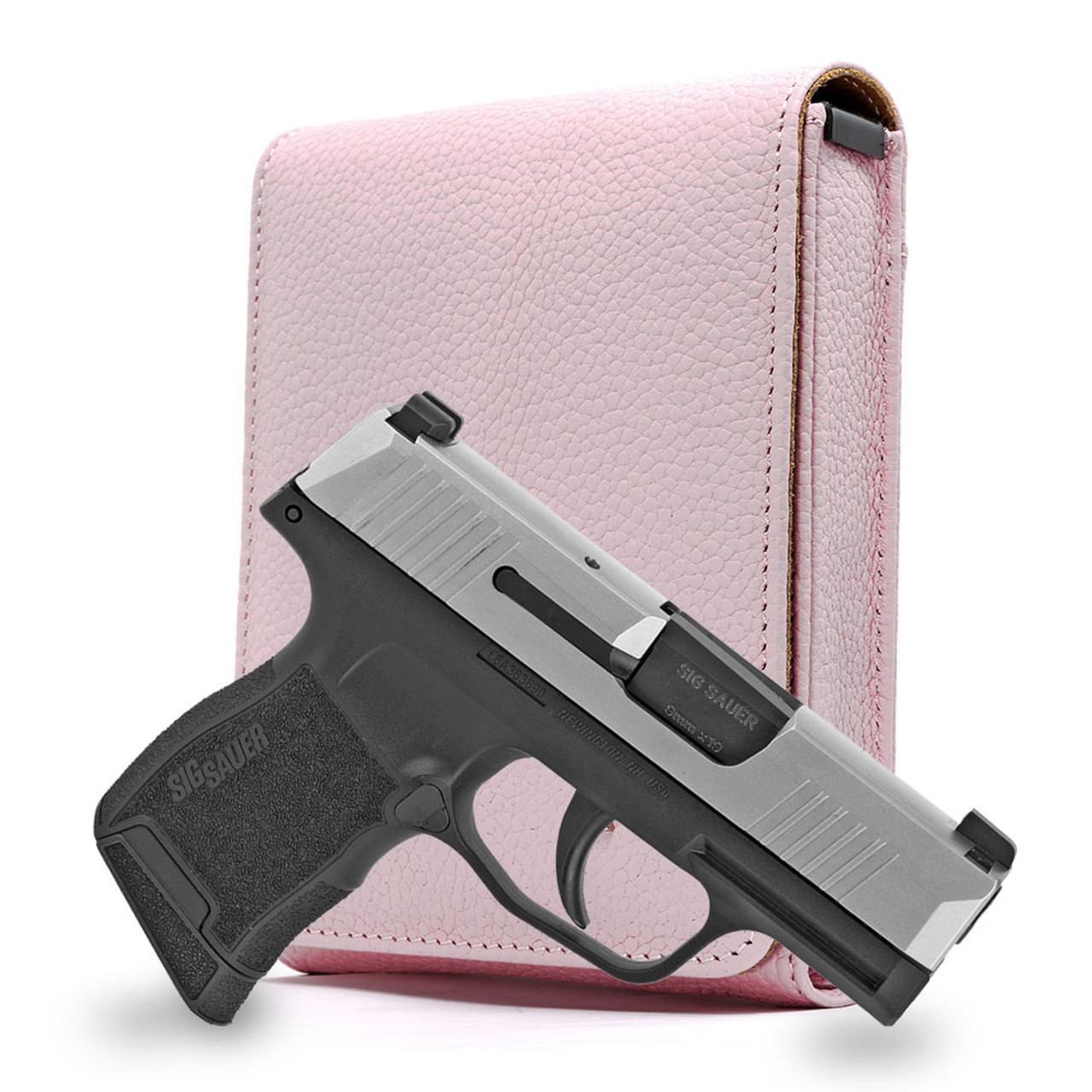 Sig P365 Pink Carry Faithfully Cross Holster