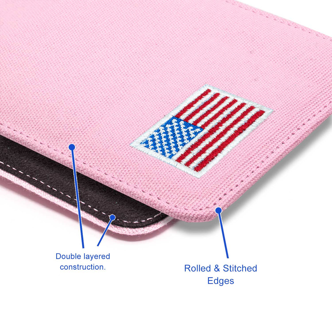 Glock 19X Pink Canvas Flag Series Holster