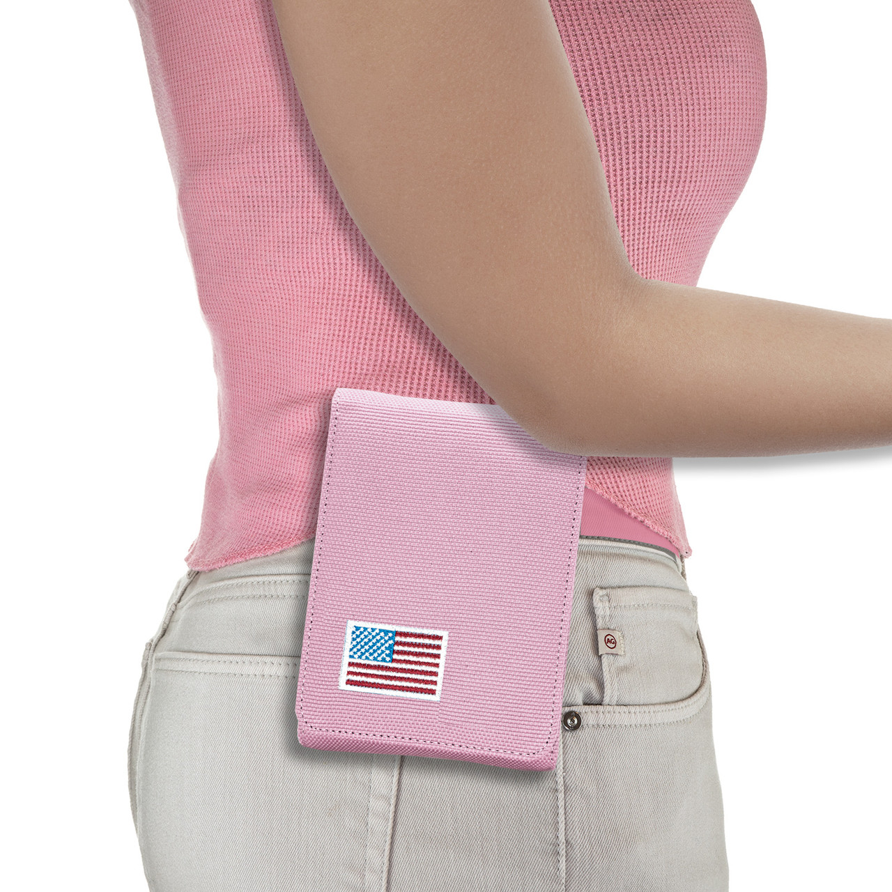 Springfield Ultra Compact Pink Canvas Flag Series Holster