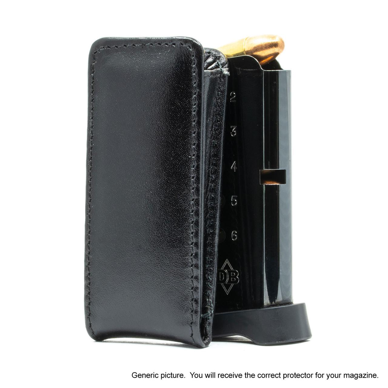 Remington RM380 Black Leather Magazine Pocket Protector