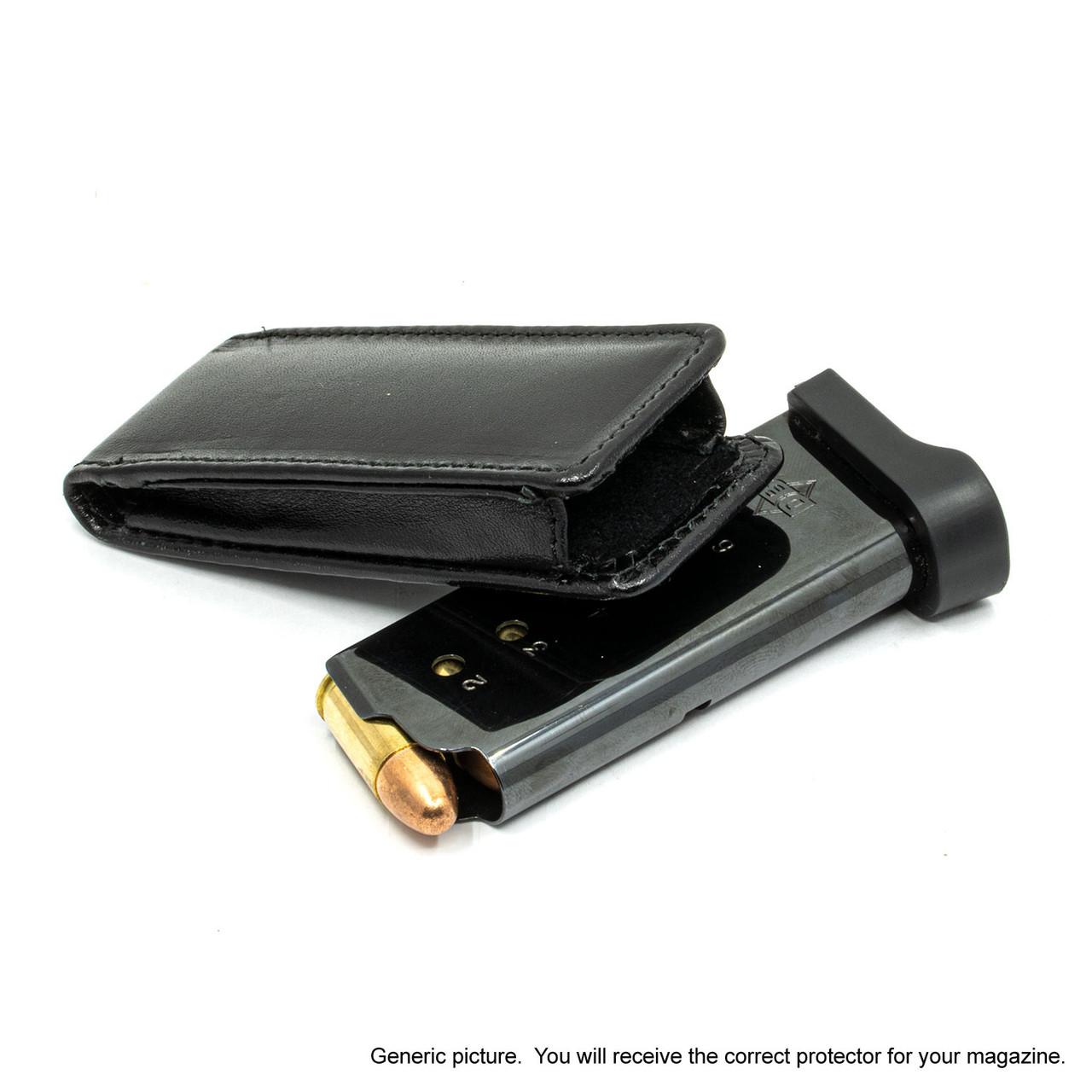 Wilson Combat EDC X9 Black Leather Magazine Pocket Protector