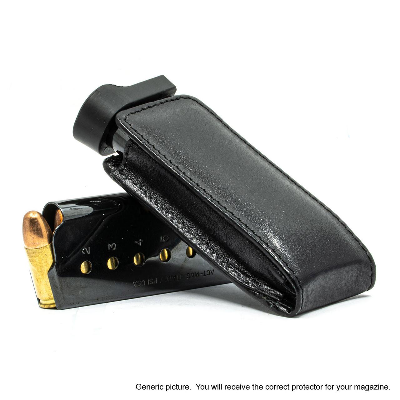 Browning 1911 .380 Black Leather Magazine Pocket Protector
