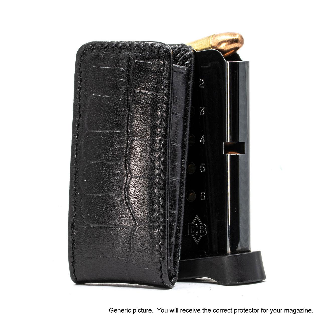 Kimber Ultra Carry II Black Alligator Magazine Pocket Protector