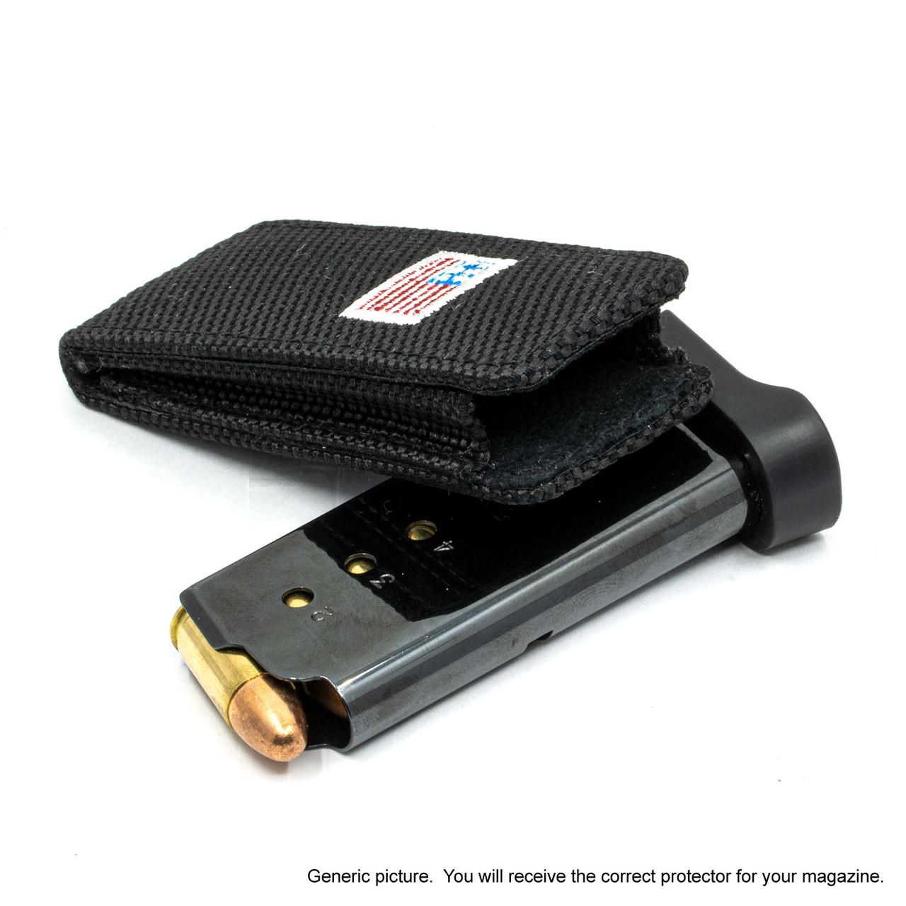 HK VP9 Black Canvas Flag Magazine Pocket Protector