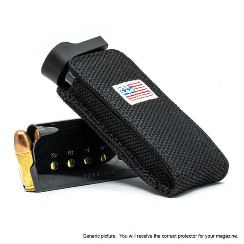 S&W SW9V Black Canvas Flag Magazine Pocket Protector