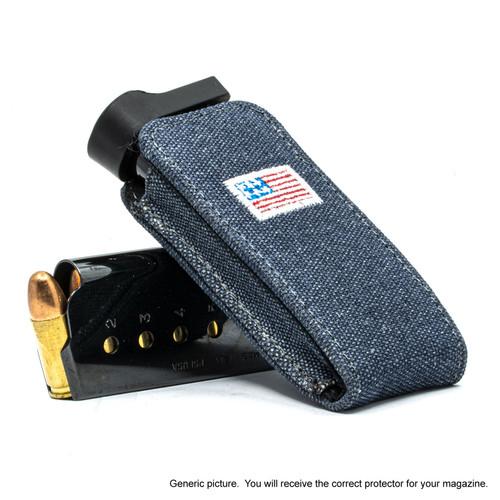 Remington R51 Denim Canvas Flag Magazine Pocket Protector
