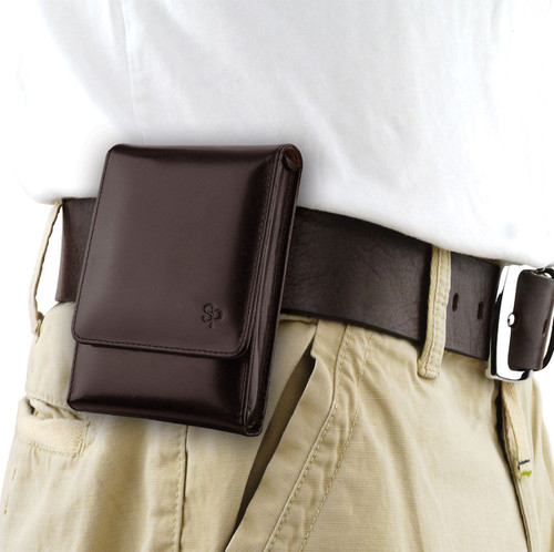 Glock 43 Brown Leather Holster