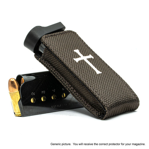 Glock 19X Brown Nylon Cross Magazine Pocket Protector