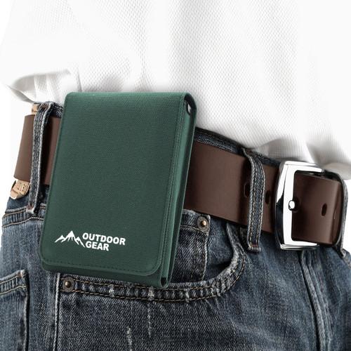 M&P Shield 9mm Green Covert Holster