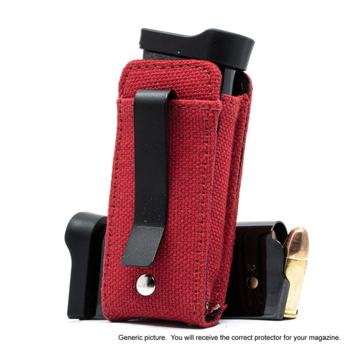 Beretta APX Carry Red Canvas Flag Magazine Pocket Protector