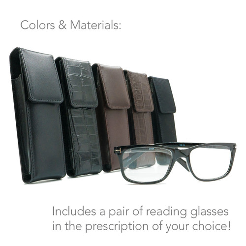 Signature Package: Reading Glasses & Case
