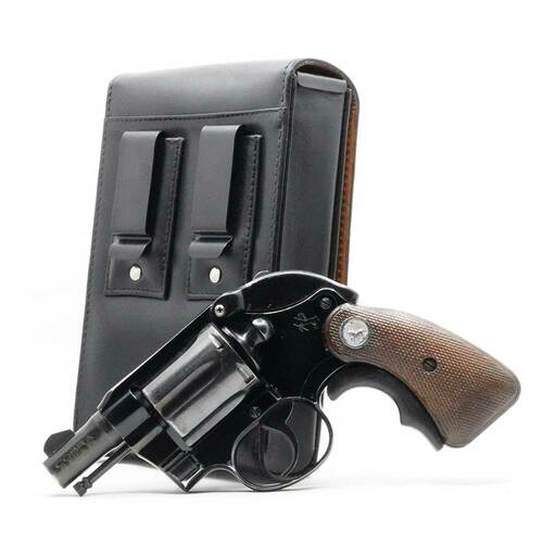 Colt Cobra .38 Special Sneaky Pete Holster (Belt Clip)