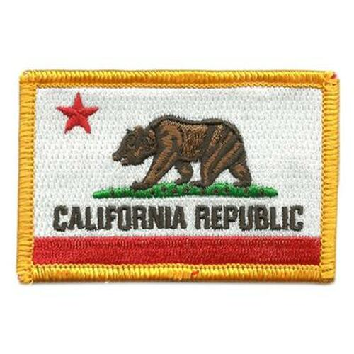 California State Flag Tactical Patch