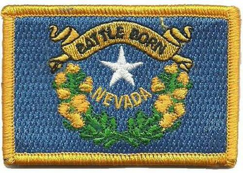 Nevada State Flag Tactical Patch