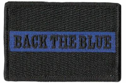 Back the Blue Tactical Patch