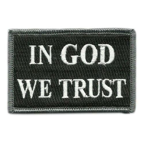 In GOD We Trust  Tactical Patch