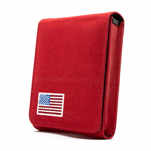 Kahr CW45 Red Canvas Flag Series Holster