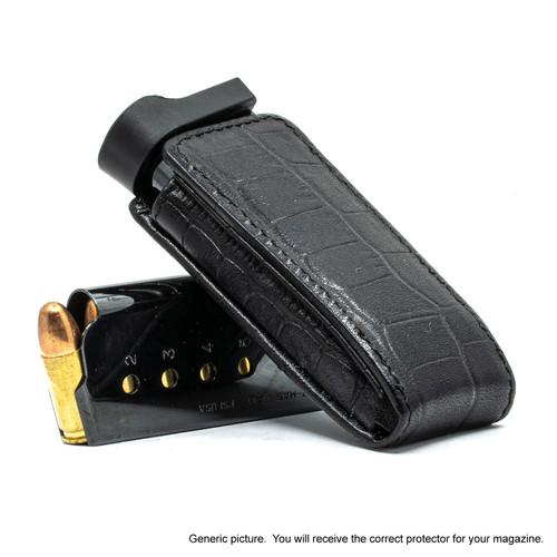 Glock 43X Black Alligator Magazine Pocket Protector