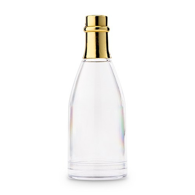 Gold Champagne Bottle Favor Containers