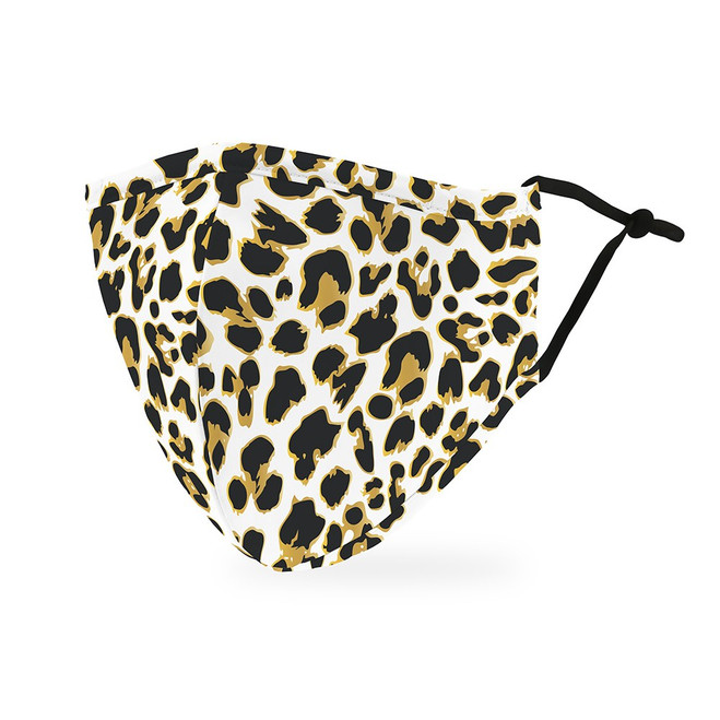 Print Protective Face Mask - Women - Leopard