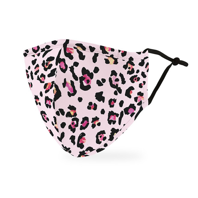 Print Protective Face Mask - Women - Pink Leopard