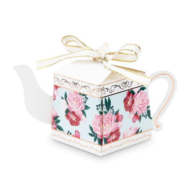 Teapot Shaped Favor Boxes - Wedding, Bridal Shower
