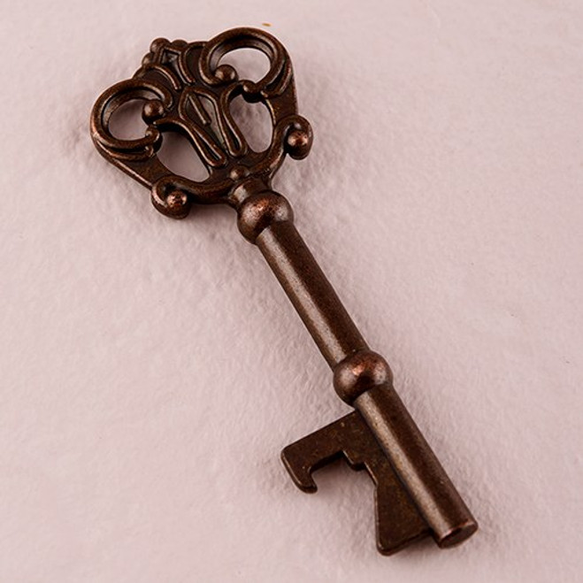 Antique Key Bottle Opener Favors - Vintage Favors