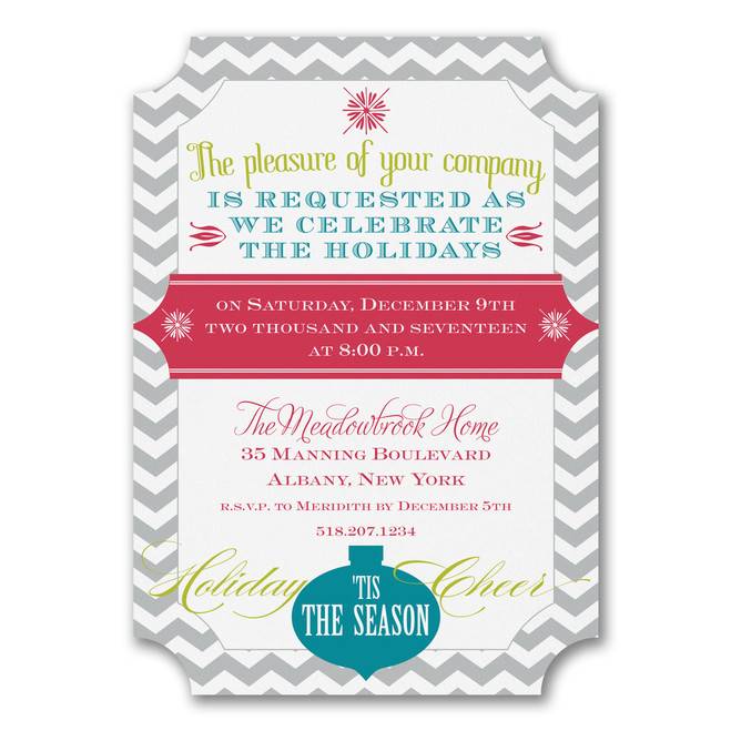 Holiday Party Invitations - Holiday Cheer