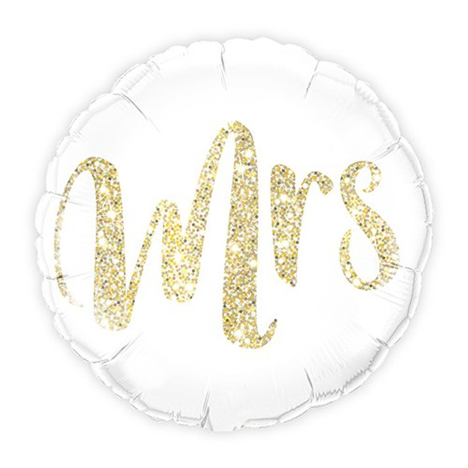 Mrs. Wedding Balloon - Foil