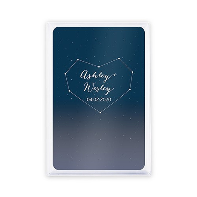 Playing Card Favors - Custom - Starry Night