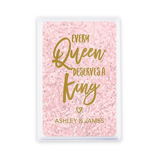 Playing Card Favors - Custom - Queen & King