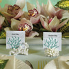 Coral Place Card Holders - Beach Wedding