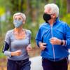 Print Protective Face Mask - Women - Blue Paisley