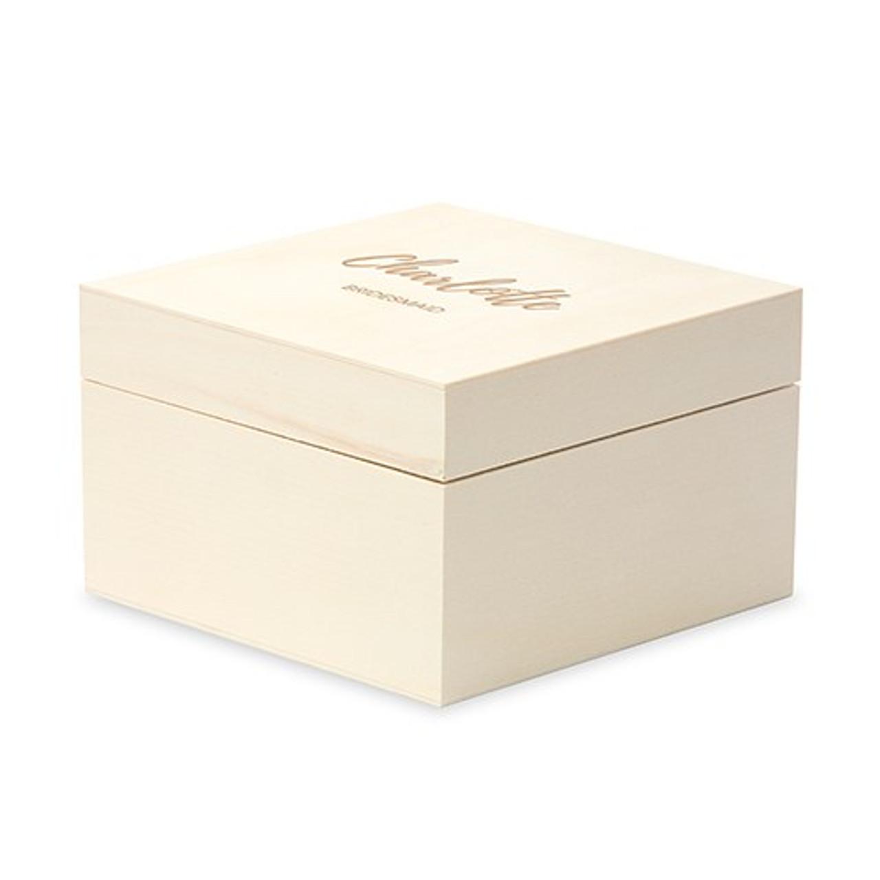 Bridesmaid Gift Box Wood