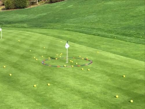 Eyeline Golf Target Circle 6ft