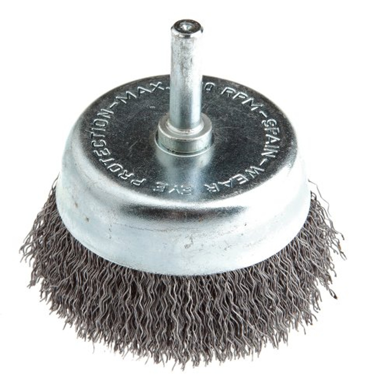 Coarse Wire Cup Brush with 1//4-Inch Hex Shank for Drill 3-Inch