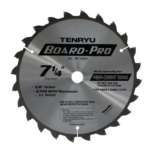 """Tenryu RS-35536CBN 14/"""" Carbide Tipped Saw Blade 36 Tooth ATB Grind - 1/"""" Arbor"""