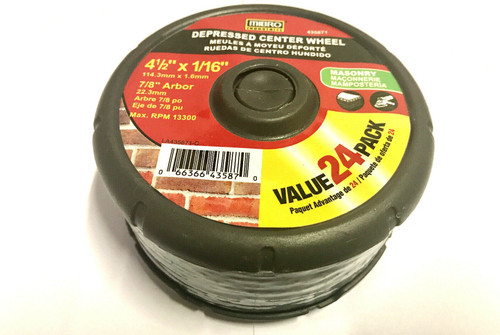 Makita 794104-A-5 4-1//2-Inch Number 24 Abrasive Disc 5-Pack