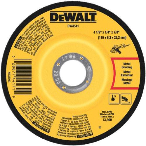"""4-1//2/"""" x 1//8/"""" x 7//8/"""" DEWALT DWAFV84518 FLEXVOLT T27 Cutting//Grinding Wheel"""