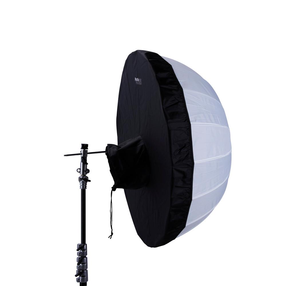 Phottix Premio Black Backing 33in Shoot-Through Umbrella