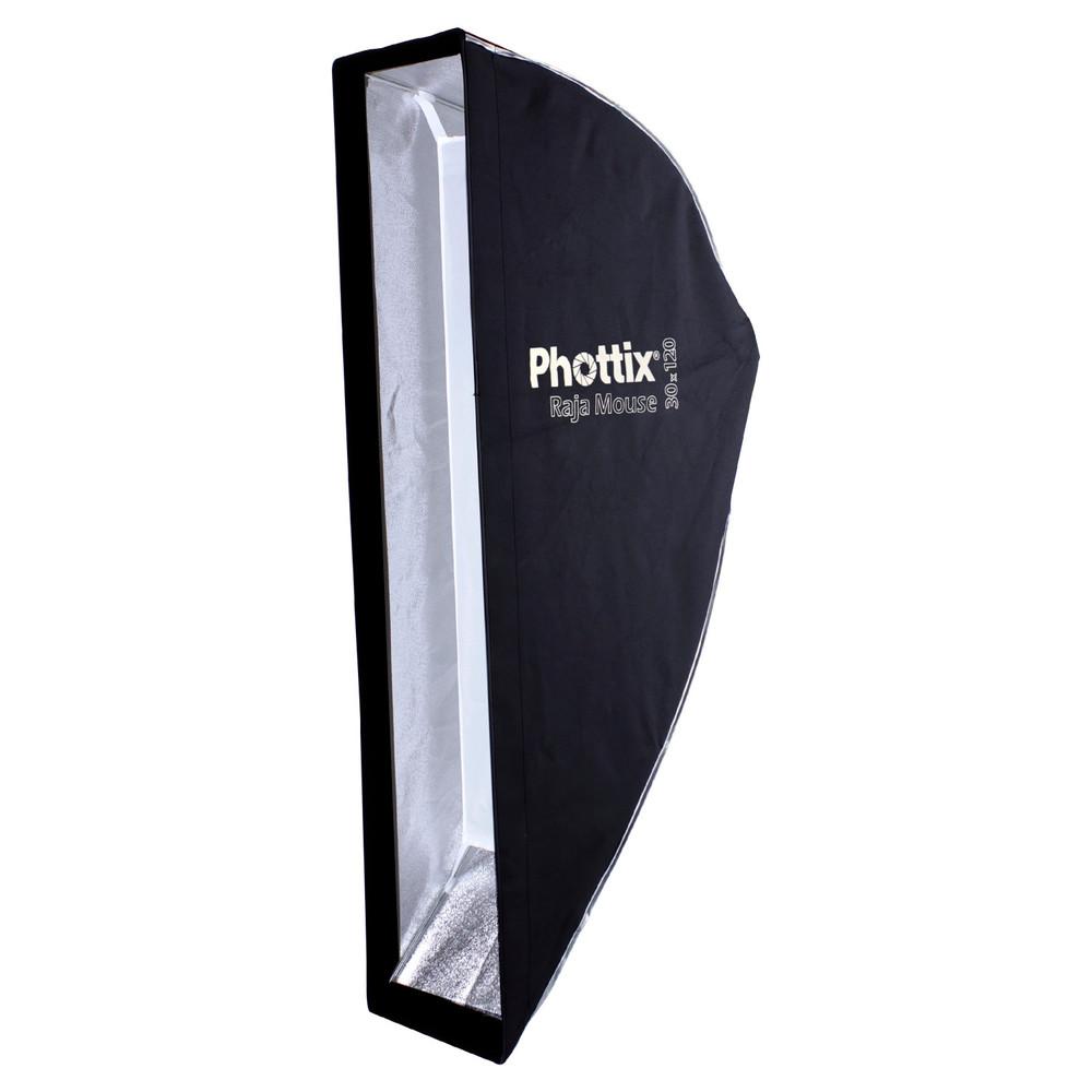 Phottix Raja Mouse Quick-Folding softbox 24x47in (60x120cm)