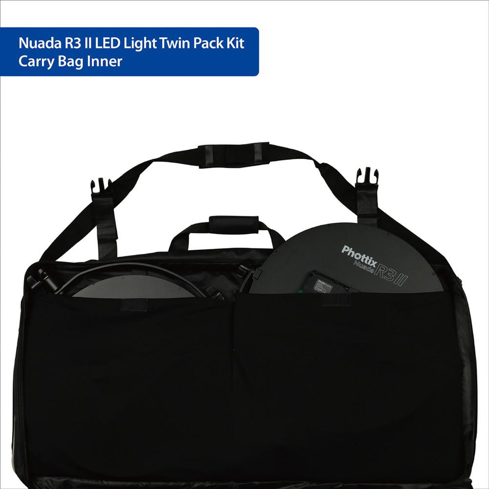 Phottix Nuada R3 II LED Light Twin Kit Set