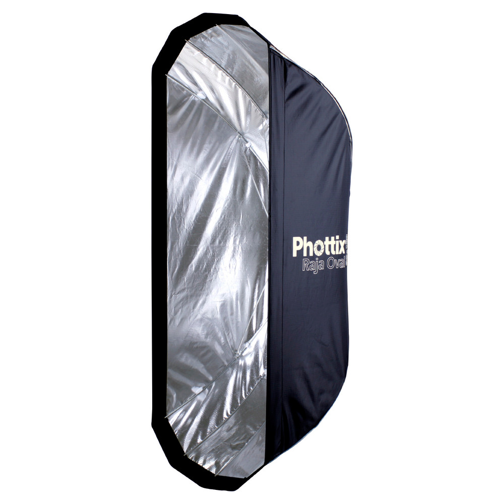 Phottix Raja Oval Quick-Folding softbox 20x47in (50x120cm)